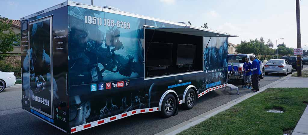 The Coolest Game Truck Around New Age Gaming Game Truck