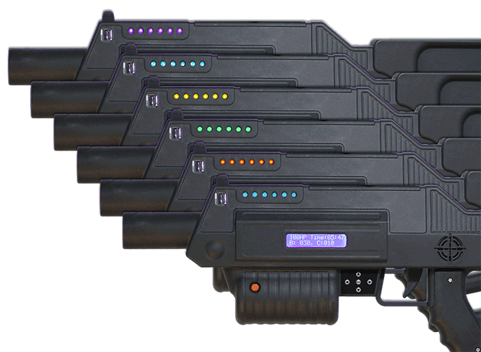 Battle Rifle Pro Laser Tag Rifles from New Age Gaming